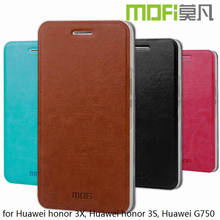 MOFi Case Cover for Huawei Honor 3X G750 , Leather Back Case for Huawei Ascend G750