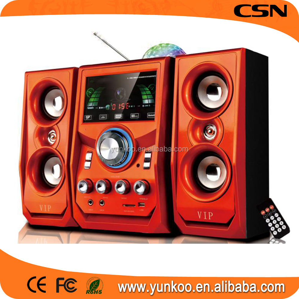 trending hot products 2.1ch multimedia speaker with fm radio