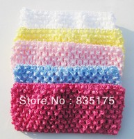 "CH 0002 1.5"" baby decorative wholesale crochet tutu tops in stock"