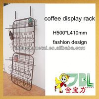 supermarket metal coffee pot stand