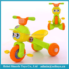 Cute cartoon children pedal tricycle kids trike for sale