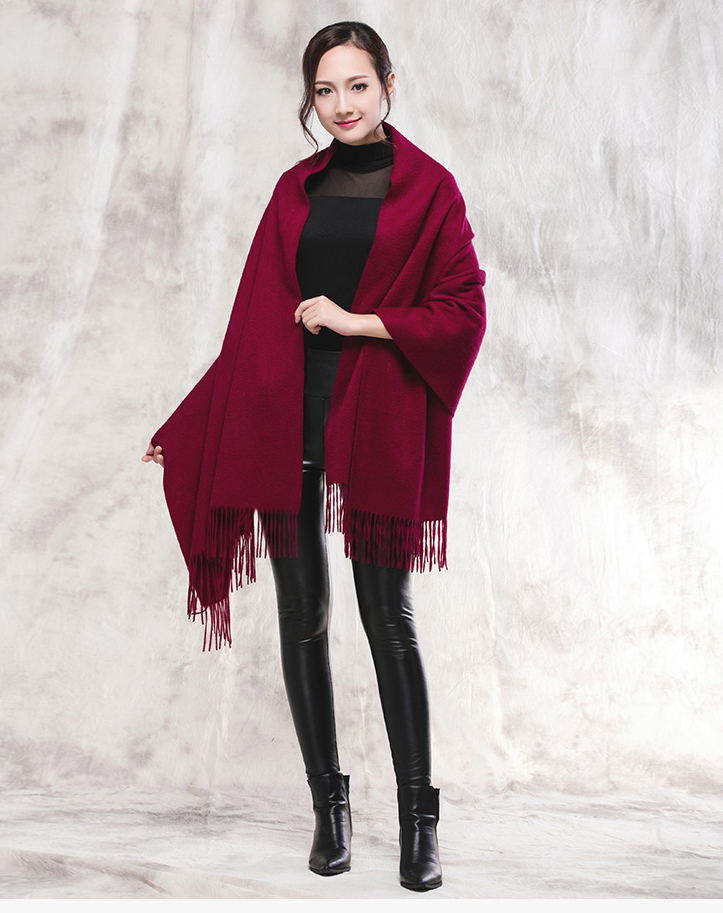 Women Winter Scarf Wool Shawl