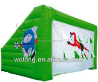 Inflatable football shooting / inflatable sports games