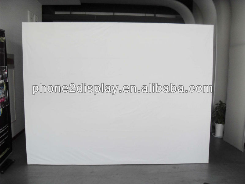 Hot sale manual wall screen/manual projection screen