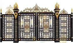 front door designs,wrought iron villa gate designs,exterior door,patio6