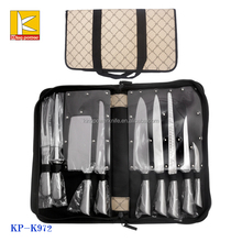 Classic bag hollow handle stainless steel knife set