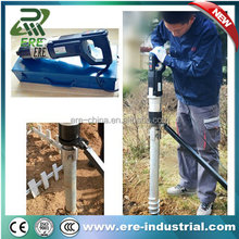 Electric power pile driver fence post driver For fence ground anchor