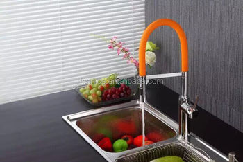 lead free healthy home use pull out spring kitchen sink faucet
