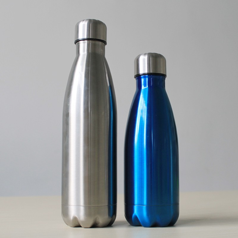 New Style keeps drinks hot and cold cola shape stainless vacuum flask
