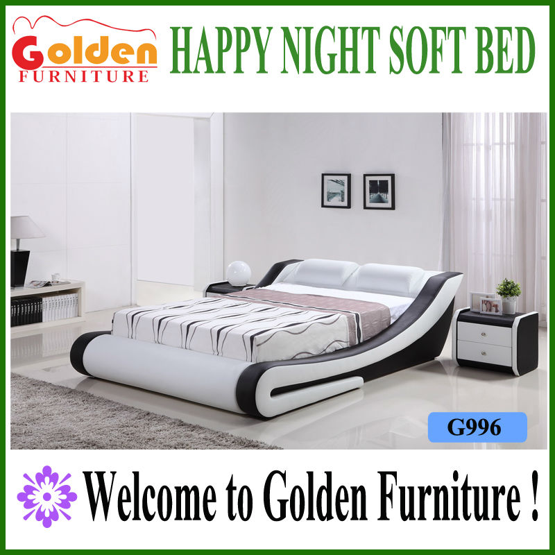Foshan Golden kerala furniture wood furniture design in pakistan sex bed frame G996# on sale