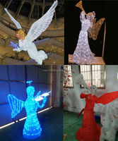 High simulation holy waterproof angel acrylic Christmas decorations hot seller design