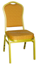 Hot Selling Stacking Hotel Banquet Chair with Chair Cover