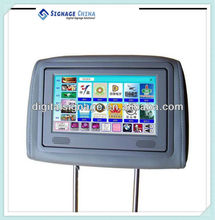 "8"" LCD Cab Car Taxi Advertising Screen Built With Digital Signage Media Player"