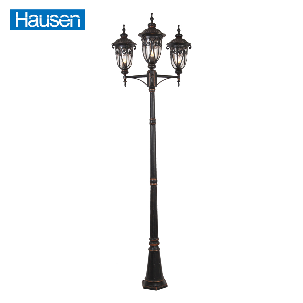 European 220 volt 250w waterproof antique street light
