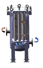 industrial sand filter with filter cartridge for drip irrigation system