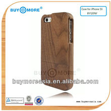 Eco Friendly Real Natural Bamboo Slim Cover for iPhone 5s, Wood For iPhone 5 Case