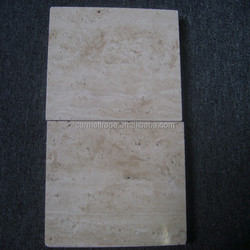 Popular white travertine paver for floor tiles