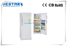 Vestar produce refrigerator french double door for domestic home appliances