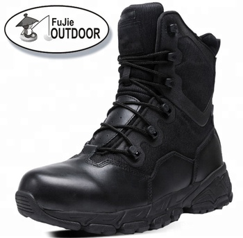 Mens Lightweight Zipper Combat Tactical Military Boots