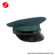 Customized design hot sale embroidery military peaked cap