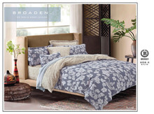 china manufacturer latest modern design euro size 4pcs 100% cotton printed quilt cover set