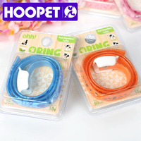 HOOPET different patterns pet collar leather straps for dog straps breakaway buckle