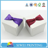 luxury recyclable custom jewelry gift boxes, unique jewelry gift boxes with ribbon