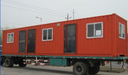 cheap movable prefabricated living container house