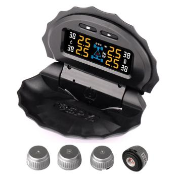 Universal 4 internal and external sensors solar power car TPMS