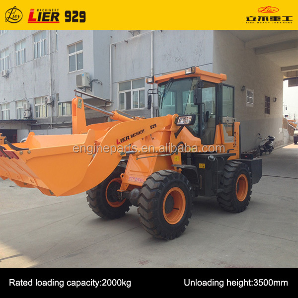 LIER-929 1.5t -2t Mini Front Wheel loader