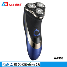 Anbolife as seen on TV indicator light arthroscopy trimmer waterproof rechargeable cordless rotary sideburn electric man shaver