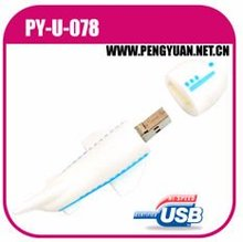 promotional gift airplane usb flash drive with logo