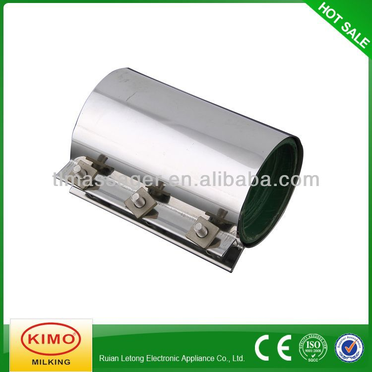 Stainless steel pipe clamp with plastic cylinder buy