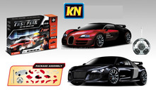 Best Selling Remote control flashing Racing car real ,car models