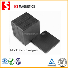 High Gloss Bonded Ferrite Block Magnet Y33
