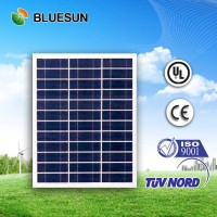 Bluesun factory design cheap offer 50w polycrystalline photovoltaic solar panels