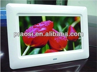 "7"" mp3 frame / sex video audio digital photo picture frame hot animal and women sexy photos"