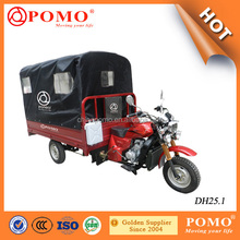 Double Front Absorbers Traditional Useful Design Three Wheel Motorcycle 250cc Engine Strong Rear Axle