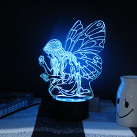 Creative Angel Colorful 3D LED Night Light gifts Light