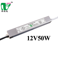 12V 50W waterproof slim led driver 4.16A led power supply led strip lights driver with CE ROHS