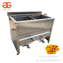 Commercial Stainless Steel Doughnut Fryer Falafel Fry Gas Electric Deep Fat Fryer Machine