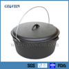 China supplier seasoned cast iron cookware