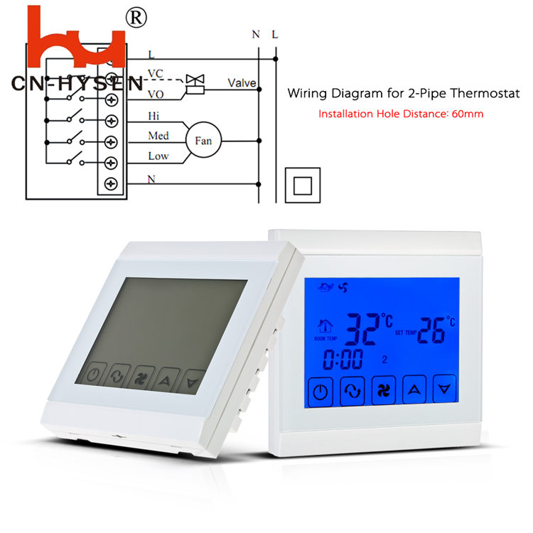 Electronic Room Thermostat For Central Air Conditioning