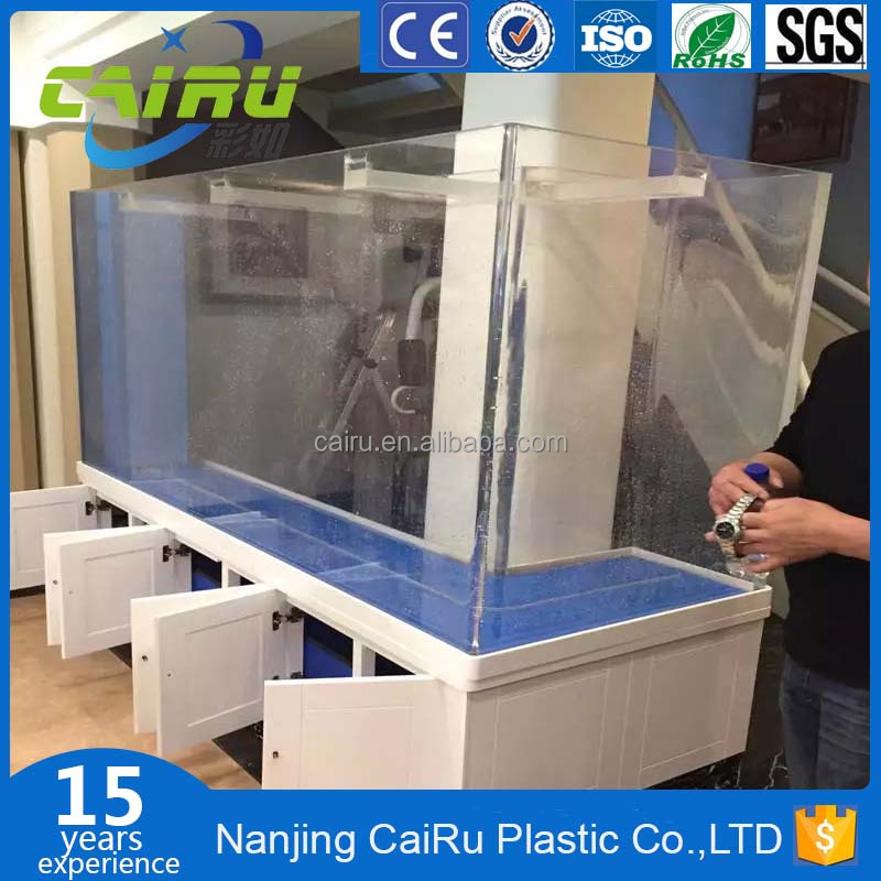 Experienced manufacturer large acrylic shark tank