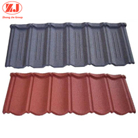 Factory industrial metal stone coated roof tile shingles