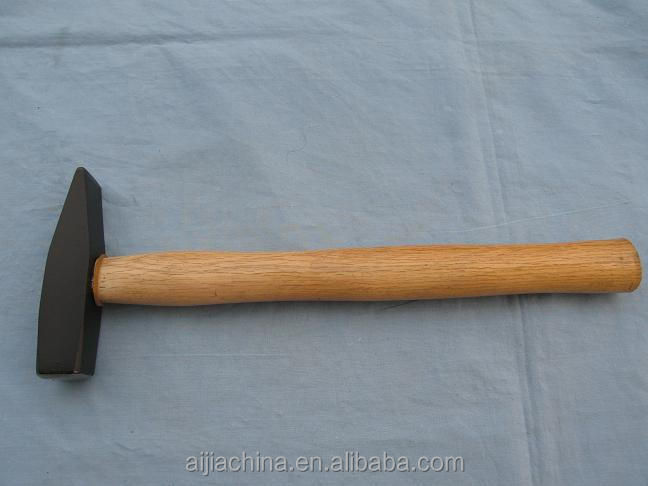 45# Carbon Steel Forged MACHINIST HAMMER WITH WOODEN HANDLE