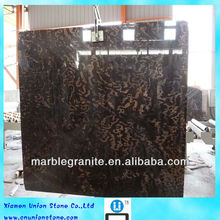 A Grade High Polished Nature Marble Black Orris