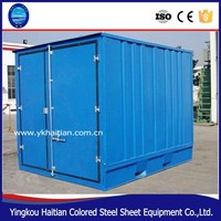Shipping prefab modular container house easy to designs and install in south africa
