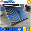 Professional manufacturer heat pipe solar collector 30 tube home use
