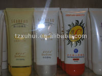 160ml body lotion cosmetics soft tubes for lumson cosmetic packaging